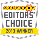 Gamespot Editors' Choice 2013 Winner