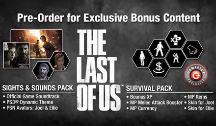 THE LAST OF US™: Pre-Order for Survival!
