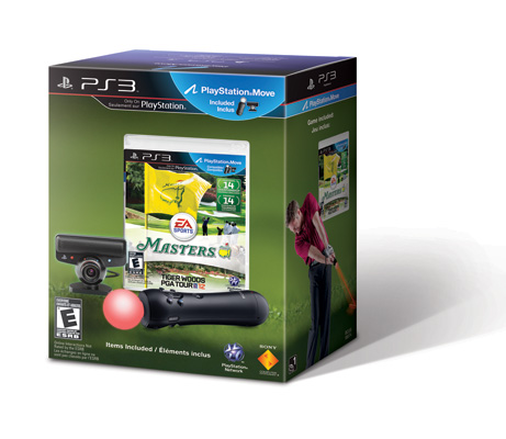 PlayStation®Move Tiger Woods PGA Tour 12: The Masters Edition Bundle