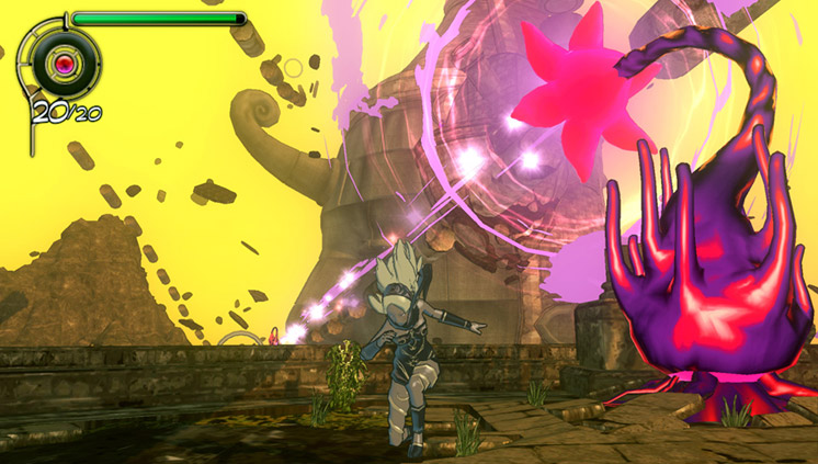 Combat is beautiful in Gravity Rush, but unwieldy